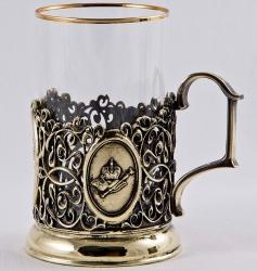 """Набор для чая """"Императорская чета"""" в деревянном ларце"""