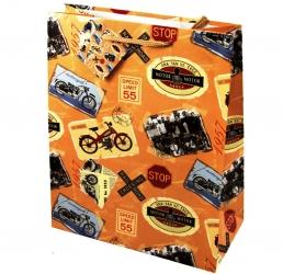 Пакет для подарка арт. 108BL 26*32 см