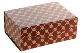 Подарочная коробка (коричневая) 14*20*8 см