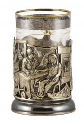 """Набор для чая """"Медики"""" в деревянном футляре"""