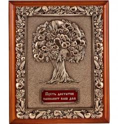 """Ключница настенная на 3 ключа """"Древо изобилия: Пусть достаток наполнит ваш дом"""""""