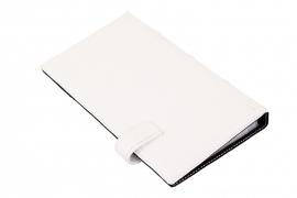"Визитница ""Герб"" белая на 160 визиток"