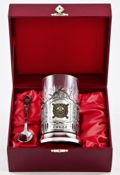 "Набор для чая ""ГИБДД"" в деревянном футляре арт. ПД-126"