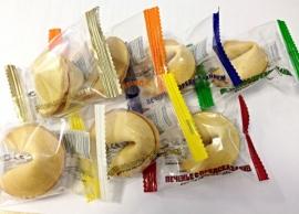 Печенье с предсказаниями в индивидуальной упаковке от 100 шт.