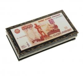 "Шкатулка- купюрница ""5000 рублей"""