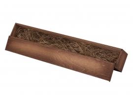 """Ложка д/обуви """"Собака"""" (бронза) 44 см в деревянном футляре"""