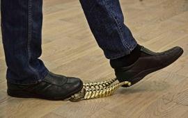 """Подставка для снятия обуви """"Денщик Рог Изобилия"""" арт. ВД-32 Рог изобилия"""