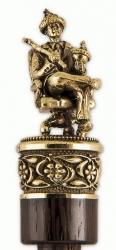 """Рожок для обуви """"Царь- Батюшка"""" 49 см (бронза, венге) арт. РО-15царь"""