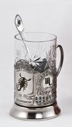 """Набор для чая """"Знаки зодиака: Скорпион"""""""