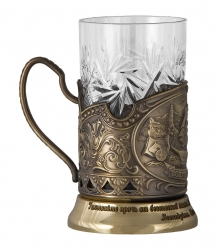 "Набор для чая ""Парусник"" в картонном футляре арт. ПД-360/1У-л"