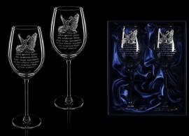 """Набор бокалов с оловянными накладками """"Вечная любовь"""" от 4 000 руб"""