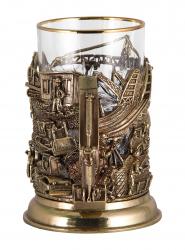 """Набор для чая """"Строители"""" (бронза) арт. ПДКО-336ДФ"""
