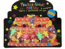 """Набор свечей для торта """"С юбилеем"""""""