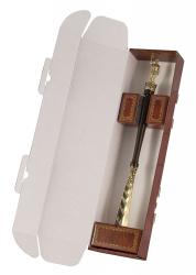 "Рожок для обуви ""Железнодорожник"" 49 см (бронза, венге) арт. РО-15ж/д"