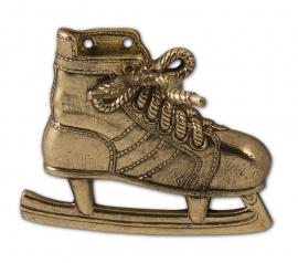 """Набор д/обуви """"Хоккеист"""": рожок д/обуви, крючок, подставка д/снятия обуви (бронза)"""