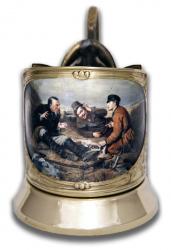 """Набор для чая """"Охотники на привале"""" (цветной) арт. ПДЦ-501/1У"""