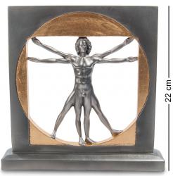 """Статуэтка """"Витрувианский человек"""" (Леонардо да Винчи) 22 см"""