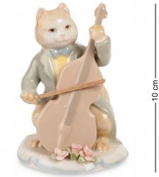 """Статуэтка """"Кот с виолончелью"""" 10 см"""