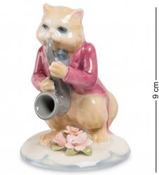"Статуэтка ""Кот с саксофоном"" 9 см"
