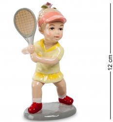 "Статуэтка ""Игра в теннис"" (девочка) 12 см"