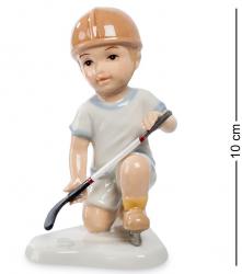"""Статуэтка """"Игра в хоккей"""" (мальчик) 10 см"""