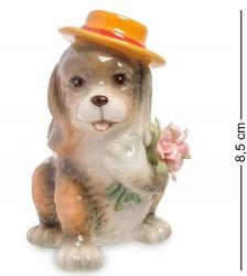 """Фигурка """"Собака с букетом"""" 8,5 см"""