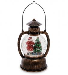 "Новогодний шар с подсветкой ""Санта Клаус"" 26 см"