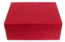 Коробка подарочная (из тафты) 26*21*10 см