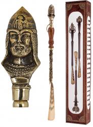 """Ложка д/обуви """"Князь"""" (бронза) с деревянной ручкой 57 см"""