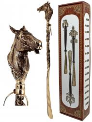 """Ложка д/обуви """"Лошадь"""" 44 см (бронза)"""