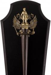 """Рожок для обуви """"Генерал"""" на панно с крючком """"Герб России"""""""